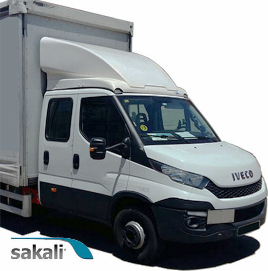 Deflector Integral nuevo Iveco Daily -2014- 850 mm - Cabina doble.