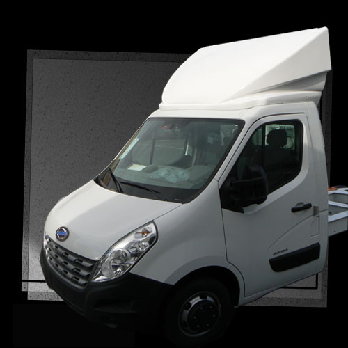 Deflector Integral Nissan NV 400 - 60 cm