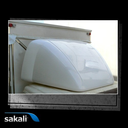 Deflector Integral serie 30 Renault D 2.1 Day cab sin litera-66 cm
