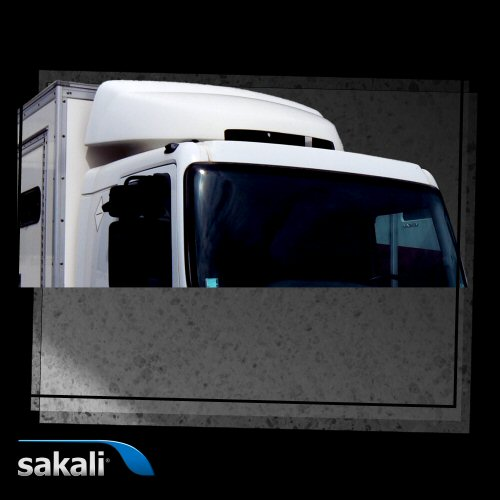Deflector Integral Renault D 2.3 -Wide-Night & Day Cab-56cm.serie 35-techo bajo-con litera